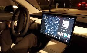 the tesla model 3 will keep its boring dash autoguide com news