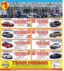 nissan finance payment login weekend ad team nissan dealership
