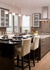 contemporary eat in kitchen features open design candace