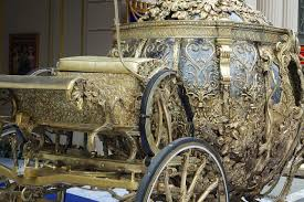 cinderella coach golden carriage prop from cinderella photo 2 of 4