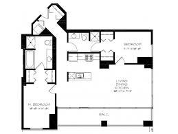 Two Bedroom Floor Plans The South Loop U0027s Best Apartments U2013 Two Bedroom Floor Plan U2013 Yochicago