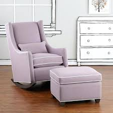 Ottoman For Baby Room Glider Rocker With Ottoman For Baby Room Small Home Ideas