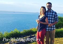 wedding registry vacation pre wedding registry eric and abigail