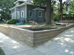 Ideas For Retaining Walls Garden by Retaining Wall Garden Bed Ideas Retaining Wall Ideas For
