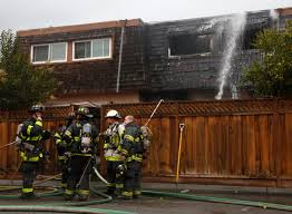 san jose two alarm fire at townhouse complex