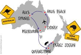 Fabuloso Roteiro de duas semanas pela Austrália e Nova Zelândia | Terminal  #CK96