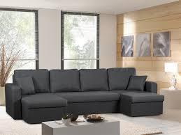 canapé gris anthracite pas cher canapé panoramique convertible gris anthracite venus sofa divan