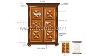 armoire dictionary house house furniture storage furniture image visual dictionary