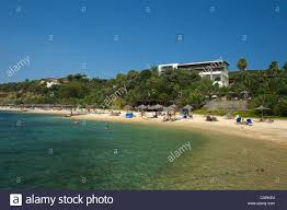 beach of the eagles palace hotel in ouranopoli athos halkidiki