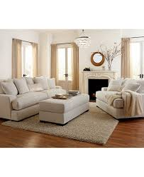 leather living rooms castle fine furniture ainsley fabric sofa living room collection created for macy s