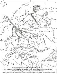 greek gods coloring pages kids coloring