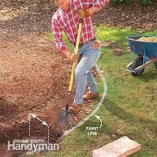 the best garden edging tips gardens rock border and garden ideas