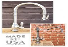 kitchen faucets made in usa awesome made in usa kitchen waterstone made in america american