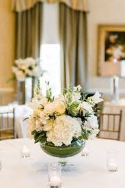 White Roses Centerpieces by Wintry White Rose And Hydrangea Centerpieces Centerpieces