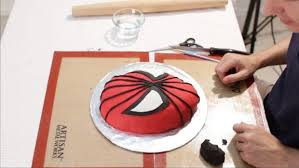How To Decorate Spiderman Cake How To Make A Spiderman Cake 10 Steps With Pictures