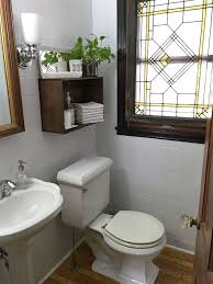 updating bathroom ideas updating the powder room with painted tile hometalk