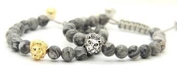 halloween beads wholesale 2017 2016 new design mens bracelets wholesale 8mm grey picture