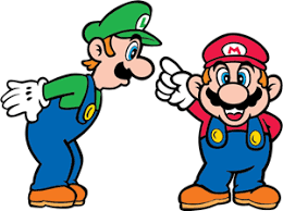super mario bros logo vector eps free download