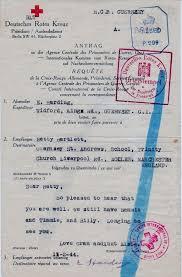 Sié E Croix German Cross Prisoner Of War Letter November 2nd 1944 Front