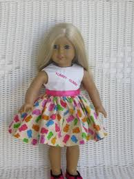 gummy clothes gummy doll dress for all 18 inch dolls like the american