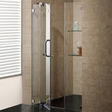 22 Inch Shower Door Sliding Doors Vigo 60 Inch Clear Glass Frameless Shower Door