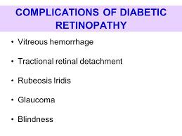 Diabetic Blindness Diabetic Retinopathy Ppt Download