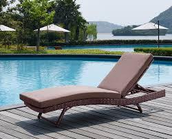 mercury row rebecca patio lounger with cushion u0026 reviews wayfair