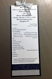 what to put on wedding programs multi layer wedding program tiffanykdesigns