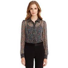 dvf blouse dvf blouse blue denim blouses