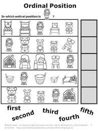 and the three bears math no prep kindergarten math worksheets