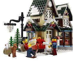 amazon com lego creator winter village post office 10222 toys