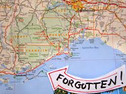 St George Island Florida Map by The Grove Guy Remembering The Forgotten Coast Part One