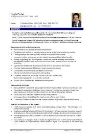 Personal Skills In Resume Examples Senior Civil Engineer Resume Sample Resume For Your Job Application