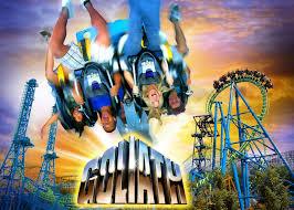 Goliath Six Flags Georgia Newsplusnotes Goliath Dominates Six Flags New England In 2012