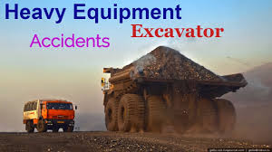 heavy equipment accidents caught on tape excavator loading fail