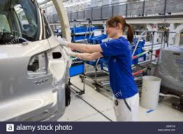 wolfsburg germany volkswagen factory production of the golf 6