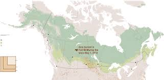 Wildfire Map Of Canada by Forest Fires Can Heat Up The Whole Planet