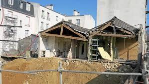 bureau des logements brest à brest le mur du magasin s effondre