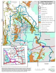 Sheridan Wyoming Map Scope Wyoming Conservation Exchange