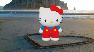 Hello Kitty Halloween Blow Up by Microsoft Hololens Hello Kitty And Actiongram Behind The Scenes