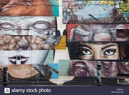 London Wall Murals England London Shoreditch Brick Lane Wall Mural Stock Photo