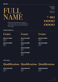 10 fresh free u0026 premium resume cv template design u0026 cover letter