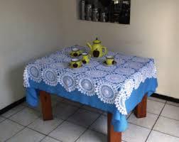 Crochet Table Cloth Wedding Tablecloth Etsy