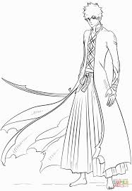 ichigo coloring pages coloring pages pinterest