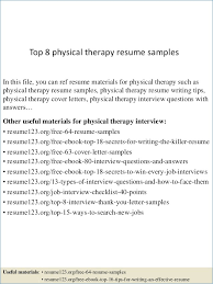 physical therapist resume template physical therapy resume sle publicassets us