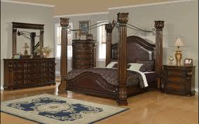 Dark Wood King Bedroom Set Rustic King Bedroom Set U2013 Bedroom At Real Estate