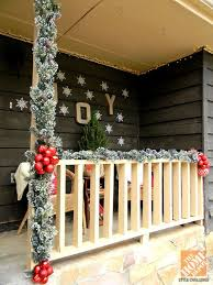 Outside Home Christmas Decorating Ideas Top 40 Outdoor Christmas Decoration Ideas From Pinterest
