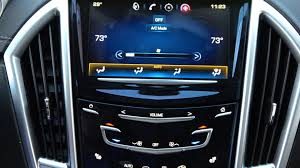 cadillac srx cue system how to set climate cadillac cue