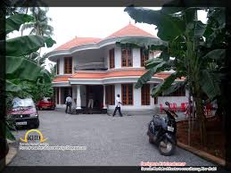 2761 sq feet semi circular shaped villa kerala house design idea