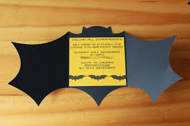 Birthday Card Invitations Ideas Batman Birthday Invitations Templates Ideas Batman Birthday